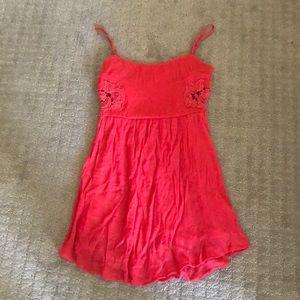 Dresses & Skirts - Coral spaghetti strap dress